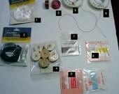 DESTASH- String, Silk, Thread, Nymo, Cord - LOT