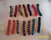 Willow's Worms - Pipe cleaner cat toys - a Kitten's Dozen