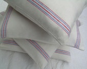 Striped Pillows - Vintage