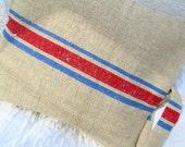"""Grainsack Pillow Sham- Antique hemp linen - 18"""""""