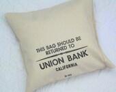 Money Bag Pillow