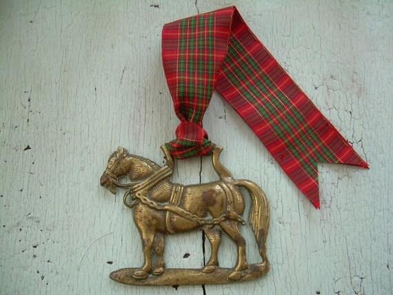 Christmas Ornament - Horse