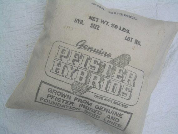 Grain Sack PIllow - 19 Inches
