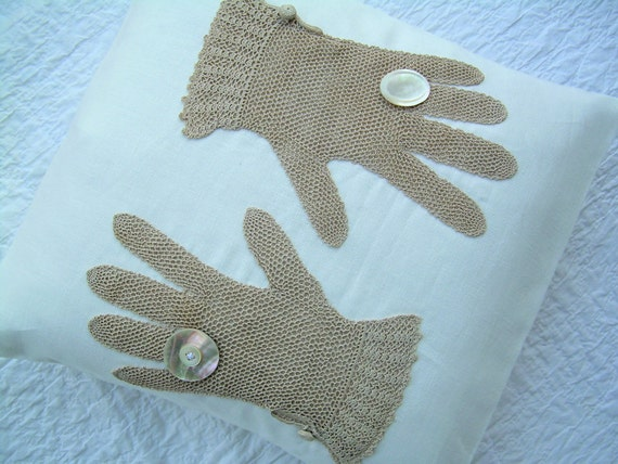 Lady Finger Pillow - 14""