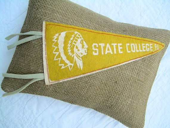 Pennant Pillow - State College, PA