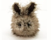 Sophia Bunny Stuffed Toy Faux Fur Plushie  Large Size