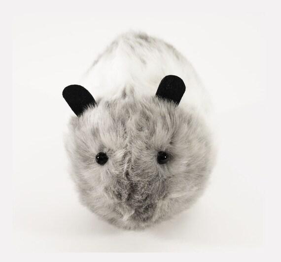 Misty Large Faux Fur Guinea Pig Plushie