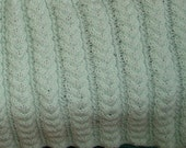 PATTERN FOR WHEATEAR CABLE BABY AFGHAN