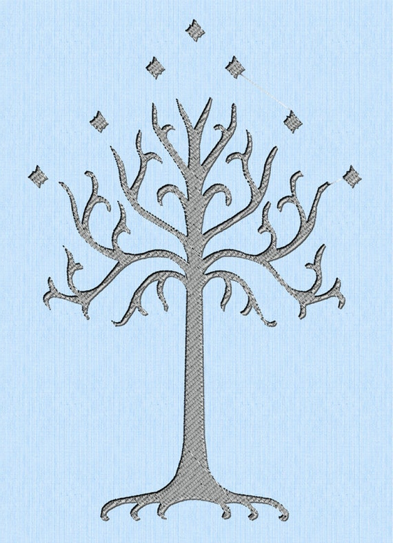 Lord of the Rings LOTR White Tree of Gondor Machine
