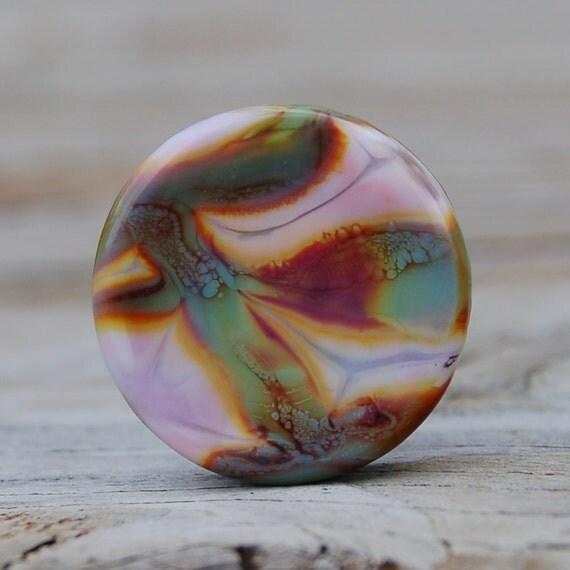 Abstract - K O Lampwork - 1 Focal Bead