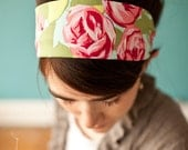 Katherines Cottage Roses - Garlands of Grace Something special headband 2012