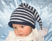 Blue Stocking Cap for Baby - reserved for Kathmix