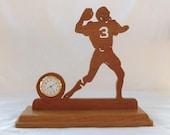 Quarterback Desk Clock