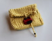 Children's Tooth Fairy Pouch with Little Train closure