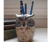 Owl Pencil Holder