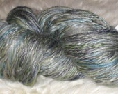 A Mermaid's Tale - Merino\/Tencel Handspun Yarn