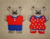 537 July Bear Magnets