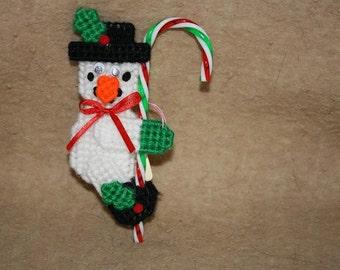 348 Snowman Candy Cane Climber