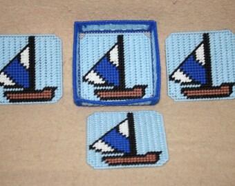 491 Sail Boat Coaster