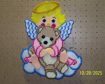 28 Angel with teddie bear