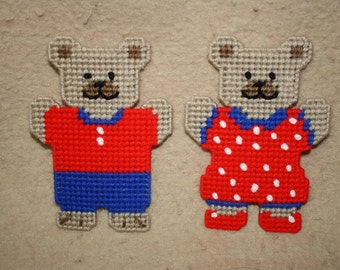 537 July Bear Magnets