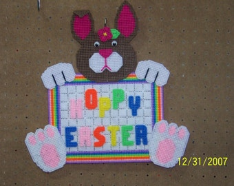 Hoppy Easter wall hanging