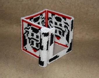 388 Cow memo cube