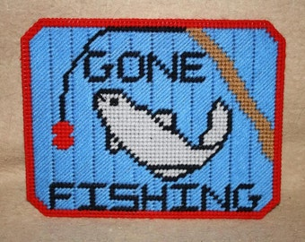 303 Gone Fishing Mouse pad