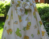 Vintage Robbie A. Robinson baby child laundry bag