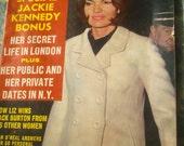 Inside Movie Celebrity Magazine October 1965 - Vintage