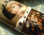70s Magazine Covered Clutch RARE Vintage purse