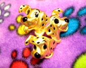 Vintage Dalmation Dogs Pin