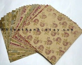 MME Oneside cardstock papers pack - Vintage collection - set of 20 papers - 6x6