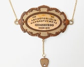 Ouija Board Pendant and Necklace