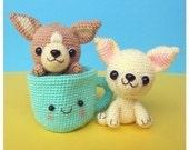 Chihuahua, Tea Cup Puppy - PDF Crochet Pattern