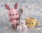 Latte and friends - PDF Crochet Pattern