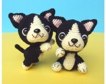 French Bulldog Puppy - PDF Crochet Pattern