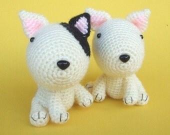 Bull Terrier Puppy - PDF Crochet Pattern