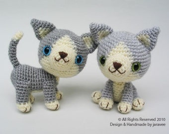 Gray Kitten - PDF Crochet Pattern