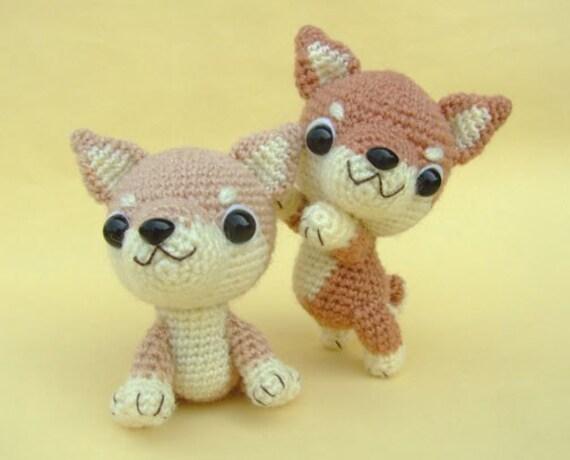 Shiba Inu Puppy - PDF Crochet Pattern