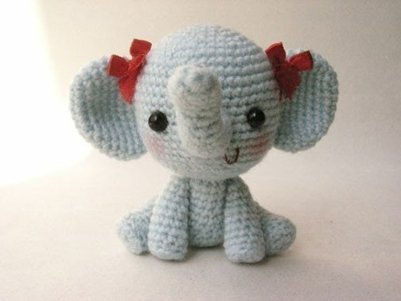 Little Elphie - PDF crochet pattern