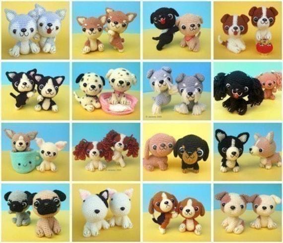 3 Ami Puppy Patterns Deal - PDF Crochet Pattern