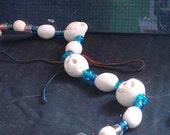 Polymer Skull Necklace Kit - DIY