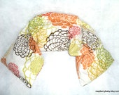 Herbal Wrap - New Size - Versatile hot or cold therapy for neck, shoulders, low back, abdomen, legs and arms - Floral Explosion
