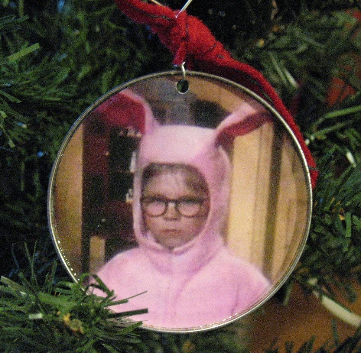 christmas story bunny pajamas infant