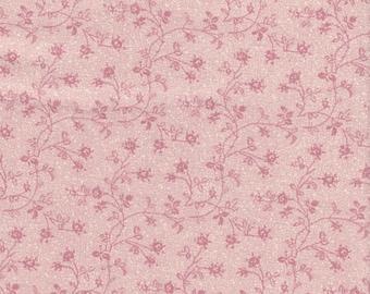 Light Wine flower Vine Fabric 100% Cotton