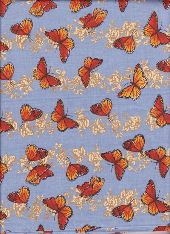 Butterfly Fabric 1 Yard