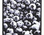 Blueberries - Original multi-block lino print