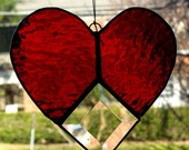 Bevel Heart Suncatcher