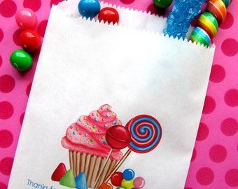 Personalized Candy Bags, Oh Sweet Candy, Favor bags, Candy Buffet, Birthday party, Sweets, Treats